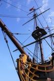 Arco di una nave di navigazione Immagini Stock