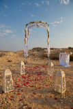 Arco do casamento fotos de stock
