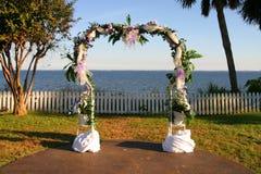 Arco do casamento Fotos de Stock Royalty Free