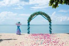 Arco do casamento Imagens de Stock Royalty Free