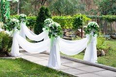Arco do casamento Imagem de Stock