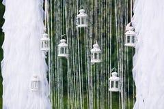 Arco do casamento do fundo para o registro Foto de Stock