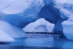 Arco do gelo - a Antártica Foto de Stock Royalty Free