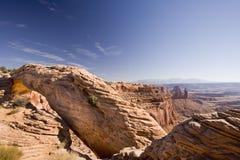 Arco do Mesa, console no céu Fotografia de Stock Royalty Free