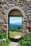 Arco do monastério antigo Fotos de Stock Royalty Free