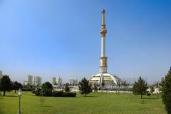 Arco do monumento da independência. Ashkhabad. Imagem de Stock
