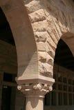 Arco do quadrilátero da Universidade de Stanford fotos de stock