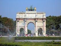Arco do triunfo imagem de stock