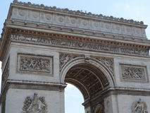 Arco do Triunfo de l'Ãtoile Imagem de Stock