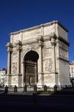 Arco do triunfo em Marselha, França imagens de stock