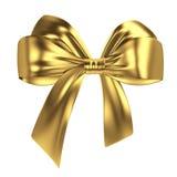 Arco dorato Immagine Stock