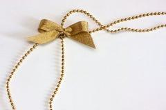 Arco dorato sulla catena Fotografia Stock Libera da Diritti