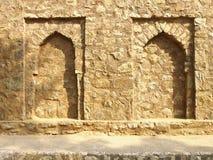 Arco duplo da pedra de india Fotografia de Stock