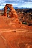Arco e bacia delicados foto de stock