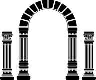 Arco e colonne di fantasia royalty illustrazione gratis