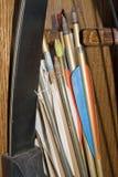 Arco e frecce Fotografia Stock