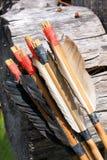 Arco e frecce Fotografie Stock
