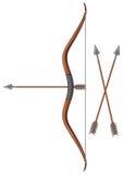 Arco e freccia Immagini Stock