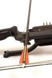 Arco e freccia composti Fotografie Stock Libere da Diritti