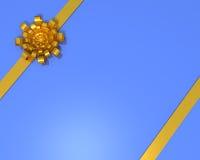 Arco e nastro del regalo Immagini Stock