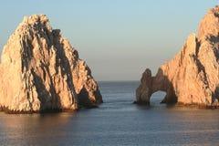Arco e roccia del Land's End Immagine Stock