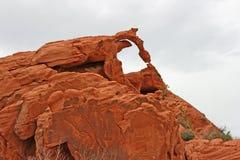 Arco efímero, Nevada fotografía de archivo