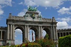 Arco em Bruxelas Fotos de Stock Royalty Free