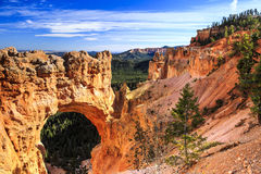 Arco em Bryce Canyon National Park Fotos de Stock Royalty Free