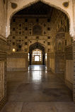 Arco em Fathepur Sikri, India Fotografia de Stock Royalty Free