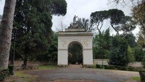 Arco em um parque Imagem de Stock Royalty Free