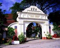 Arco en el Museo Nacional Fotos de archivo