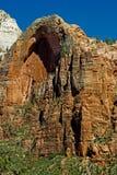 Arco en el parque nacional de Zion, Utah Fotos de archivo libres de regalías