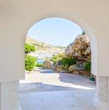 Arco en la fortaleza Imagen de archivo