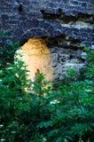 Arco en la pared vieja Foto de archivo libre de regalías