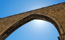 Arco expuesto en el convento de Carmen Imagen de archivo libre de regalías