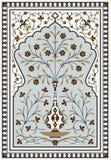 Arco floral dos de Agra Foto de archivo libre de regalías