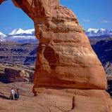 Arco fragile in archi park Immagini Stock Libere da Diritti