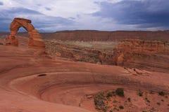 Arco fragile nell'Utah Fotografia Stock