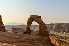 Arco fragile Utah fotografia stock libera da diritti