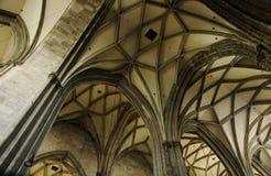 Arco gótico Imágenes de archivo libres de regalías