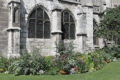 Arco gótico Foto de archivo libre de regalías