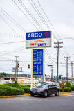 ARCO Gas Station Royalty Free Stock Images