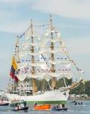 ARCO Gloria - vela Amsterdam 2015 Imágenes de archivo libres de regalías