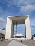 Arco grande de la defensa del La en París foto de archivo