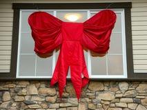 Arco grande de la Navidad imagen de archivo libre de regalías