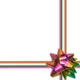 Arco grande del día de fiesta del arco iris en el fondo blanco Imagen de archivo libre de regalías