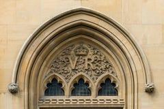 Arco gótico del Victorian Fotos de archivo