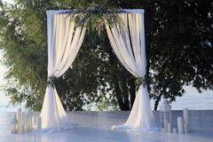 Arco hermoso de la boda Imagen de archivo