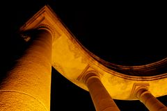 Arco illuminato Fotografia Stock Libera da Diritti