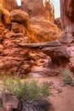 Arco impetuoso da fornalha e do acompanhamento detalhado Imagem de Stock Royalty Free